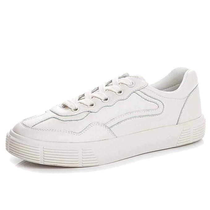Miss Li Zapatos Deportivos Para Mujer Zapatos Con Cordones Casuales Zapatillas Para Mujer Calzado Para Caminar Suave Y Cómodo: Amazon.es: Ropa y accesorios