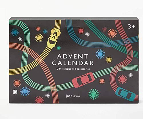 John Lewis & Partners City Vehicles and Accessories Advent Calendar 2018