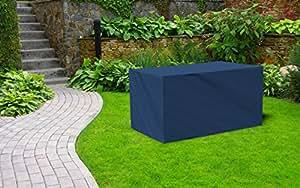 Kaiser lich24Premium–Lona impermeable (Carcasa Protectora Protección Cubierta Cubierta protectora fabricado en Alemania para jardín mesa 130cm x 130cm x 75cm