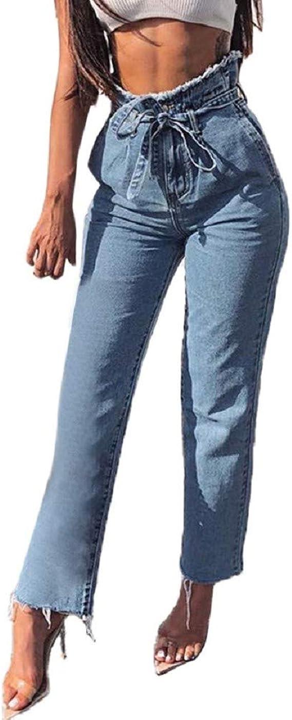 Pantalones Vaqueros Rotos Cintura Alto Para Mujer Invierno Primavera Paolian Vaqueros Cintura Negro Tallas Grandes Blanco Leggings Skinny Pantalones Lapiz Largo Push Up Flaco Ajustado Ropa Mujer