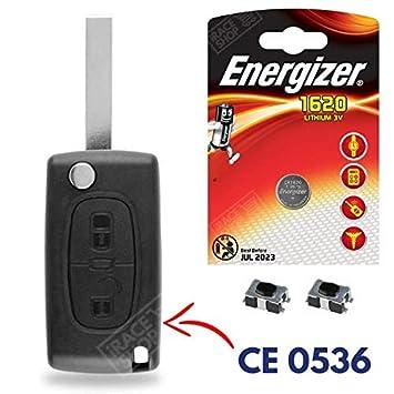 Carcasa Jongo llave caja de mando a distancia Peugeot ...