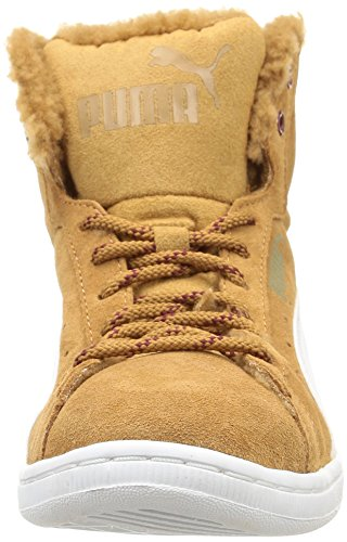 Puma Women's Vikky Mid Marl High-top Trainers Brown Size: 3.5:  Amazon.co.uk: Shoes & Bags