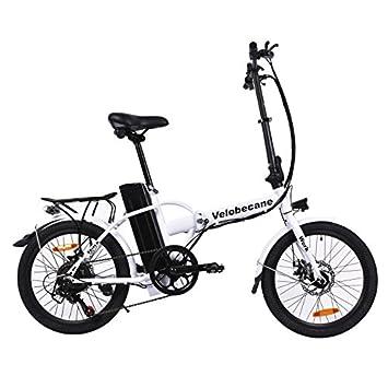 Velobecane Bicicleta eléctrica Work Blanco