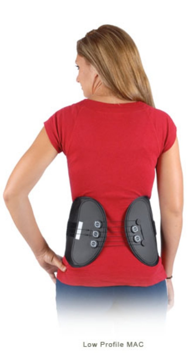 Low Profile MAC Back Support Lumbar Brace Size: Medium by CyberTech