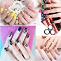 24Pcs Mixed Colors Rolls Striping Tape Line Nail Art Tips Decoration Sticker 24