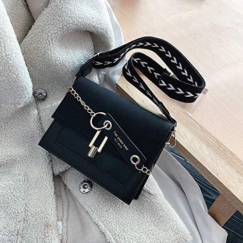 ワイドストラップ女性スクラブレザースモールハンドバッグカジュアルファッションデザイナーレディース電話の袋のショルダーバッグガールズクロスボディメッセンジャーバッグ