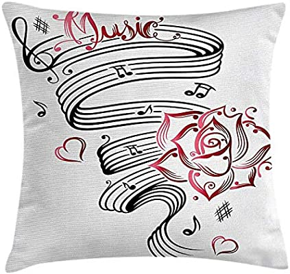 Dutars - Funda de cojín con diseño de Tatuaje de San Valentín ...