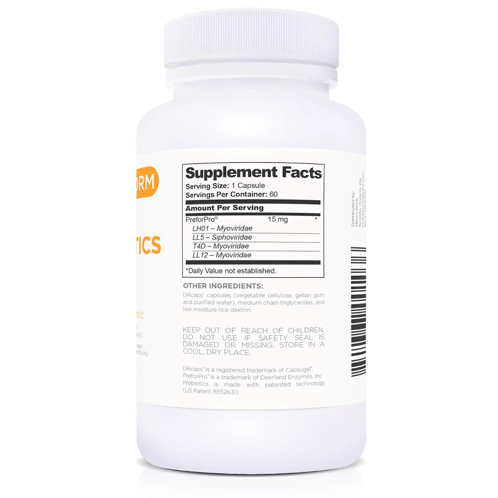 Multiform Vitamins Prebiotics - Boost All Probiotics (60 Capsules) by Multiform (Image #2)