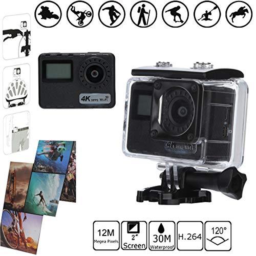2'' LTPS LCD 4K 30FPS HD 1080P Action Sport Camera WiFi DV DVR Cam -