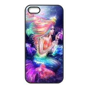 Diy Sea Mermaid Phone Case For Sam Sung Note 3 Cover Black Shell Phone JFLIFE(TM) [Pattern-4]