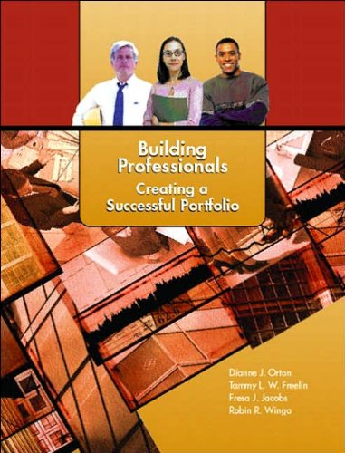 Building Professionals: Creating a Successful (text only) by D.J.Orton.T.L.W. Freelin.F.J. Jacobs