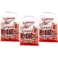 Cor Niche可尼斯 巧克力泰迪棉花糖70g*3(菲律宾进口)