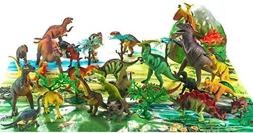 Animal Planet Toy Plastic Dinosaurs 40 Pcs Assorted Toys Fun Central AZ990 Dinosaur Toy Dinosaur Toys for Kids Jumbo Dinosaurs Dinosaur Skeletons SG/_B01N1NTH9N/_US