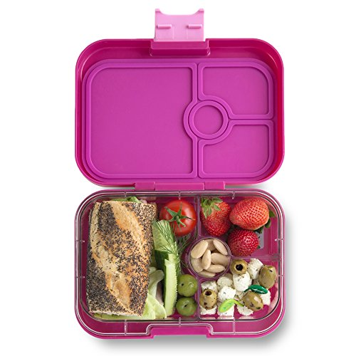 YUMBOX Panino (Malibu Purple) Leakproof Bento Lunch Box Container for Kids & Adults; Bento-style lunch box offers Durable, Leak-proof, On-the-go Meal and Snack Packing