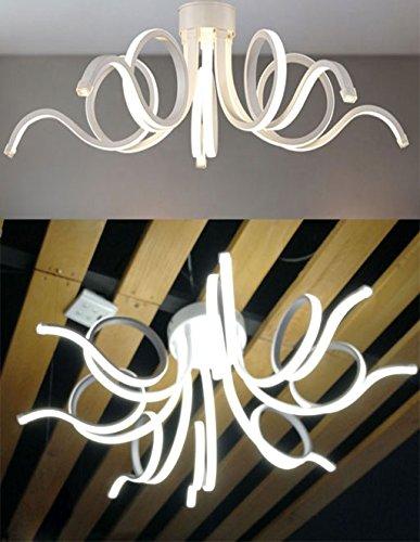 Lampadari Neon Moderni.Takestop Lampadario Lampada Ws 8 Neon Riccio Luce Led