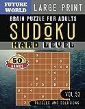 Sudoku Hard: Future World Activity Book   50