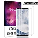 Airsspu Samsung Galaxy S8 Plus Screen Protector, Tempered Glass 3D Touch Compatible, 9H Hardness, Bubble (2 Pack)-2