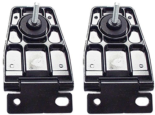 2006 Jeep Wrangler Hardtop - APDTY 140026 Liftgate Back Glass Hinge Set Fits Rear Left & Right 1987-2006 Jeep Wrangler TJ YJ With Hardtop (Replaces Mopar 5013723AB, 5013722AB)