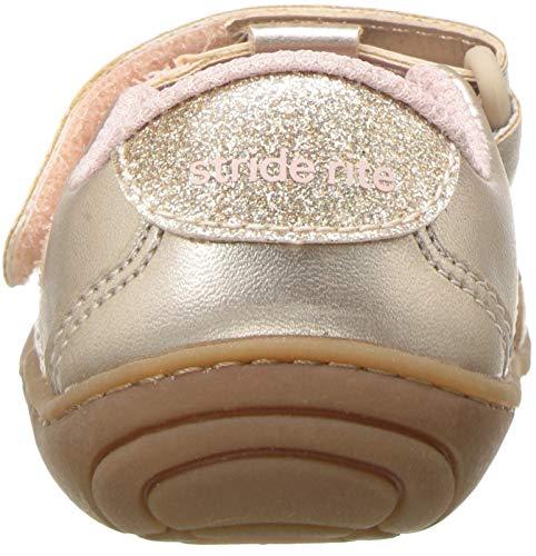 Stride Rite Girls' SR-Caroline Sneaker, Rose, 5 M US Toddler by Stride Rite (Image #2)