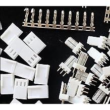 100 Sets KF2510-3P 2.54mm Pin Header+Terminal+Housing Connector Kits
