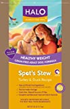 Halo Spot's Stew Healthy Weight Grain Free Turkey and Duck Recipe for Dogs, 28-Pound, My Pet Supplies