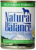 Natural Balance Ultra Premium Canned Dog Food, Vegetarian Formula, 13-Ounce (Pack of 12)