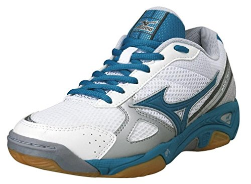 Azul 3 Zapatillas Baloncesto Mujer W De Stealth Mizuno Wave qStW8f
