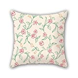 PILLO throw pillow covers of flower,for boy friend,monther,home,saloon,gf,coffee house 20 x 20 inches / 50 by 50 cm(double sides)