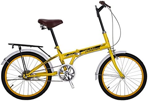 YEARLY Bicicleta Plegable Mujer, Adultos Bicicleta Plegable De una ...