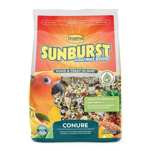 Higgins Premium Pet Foods Hig Sunburst Conure 3Lb, Large