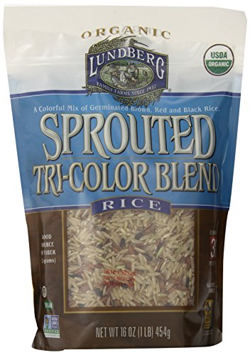 (Lundberg Organic Sprouted Tri-Color Blend Rice, 16 Ounce)