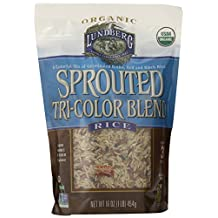 Lundberg Sprouted Tri-color Blend Rice, 1 Pound