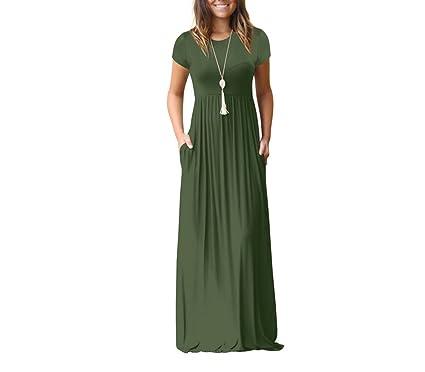 Vestidos largos para dama informales