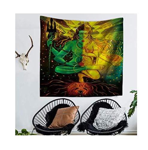 BOBSUY India Shiva Imagen Pared Tapiz Hippie Mandala Yoga ...