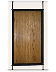 Versailles Home Fashions PP015-19 Bamboo Privacy Panel, 38-Inch x 68-Inch, Honey