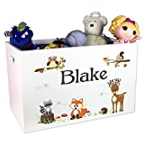North Wood Land Animal Toy Box