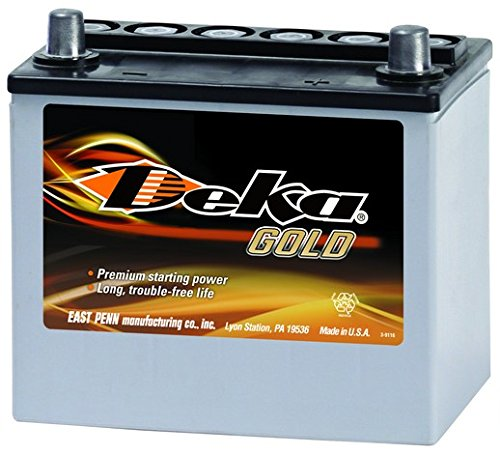 MAZDA Miata Battery Deka/East Penn 8AMU1R AGM (Batteries Agm Deka)
