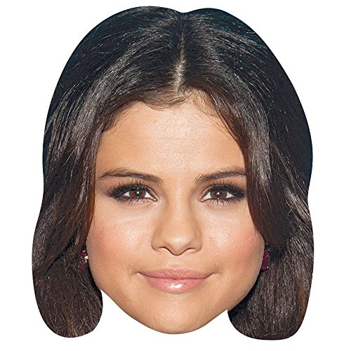 Selena Gomez Celebrity Mask, Cardboard Face and Fancy Dress - Gomez Selena Celebrity