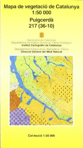 Descargar Libro Mapa De Vegetació De Catalunya 1:50.000. Puigcerdà 217 Desconocido