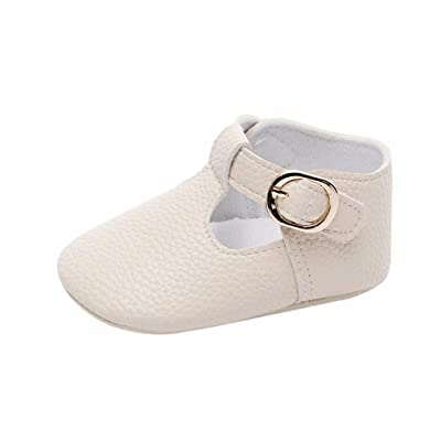 Witspace Infant Baby Girl Boy Soft Snow Boots Newborn Toddler Kids Warming Shoes (Beige, 12-18 Months): Clothing