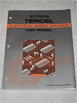 1994 Toyota Tercel Electrical Wiring Diagram Toyota Amazon Com Books
