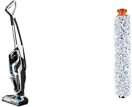 Bissell CrossWave Pet Pro Aspirador y Limpiador Multifuncional para Suelos Duros y alfombras, 560 W, 1.44 litros, 76 Decibelios + Bissell Cepillo para alfombras: Amazon.es: Hogar