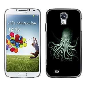 Caucho caso de Shell duro de la cubierta de accesorios de protección BY RAYDREAMMM - Samsung Galaxy S4 I9500 - Octopus Kraken Sea Ocean Creature Legs Art