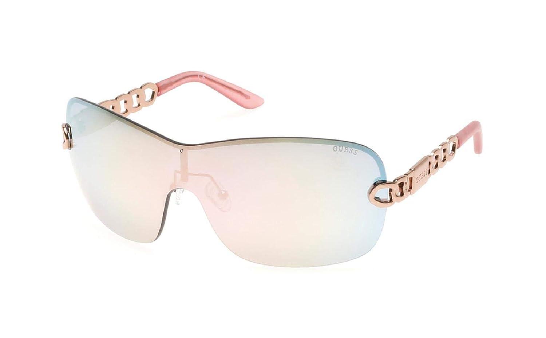 Guess GF6043-0028U Gafas de sol, Rosa, 72 para Mujer: Amazon ...