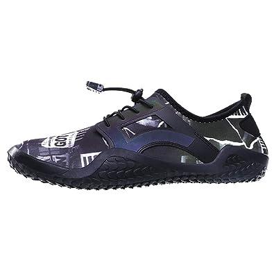 HCFKJ Zapatillas De Deporte Zapato AcuáTico para Hombre ...