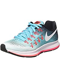 Nike Women's Wmns Air Zoom Pegasus 33, Glacier Blue / White