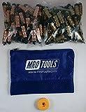 50 1/8 & 50 3/16 Standard Hex-Nut Cleco Fasteners w/ HBHT Tool & Bag (KHN4S100-1)