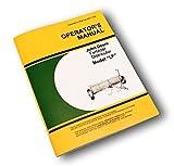 John Deere Lf 8 10 12 Fertilizer Distributor Spreader Owners Operators Manual