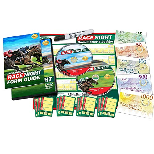 Cheatwell Games 'Host Your Own - Race Night' DVD Game ()