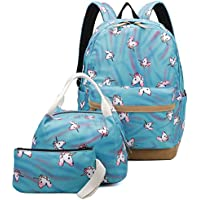 Ulgoo School Bags Backpack Set with Lunch Bag & Pencil Case
